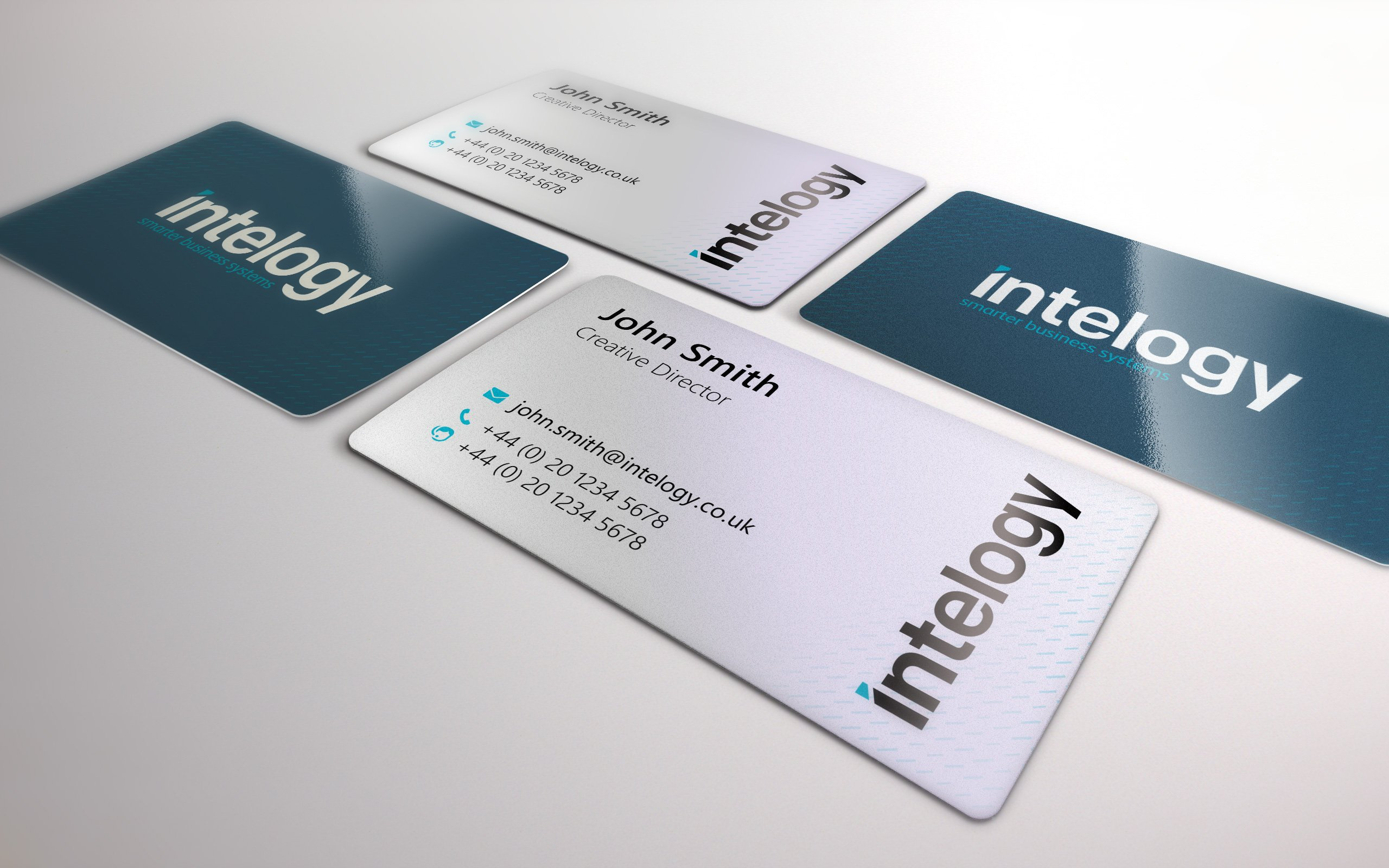 Intelogy business cards