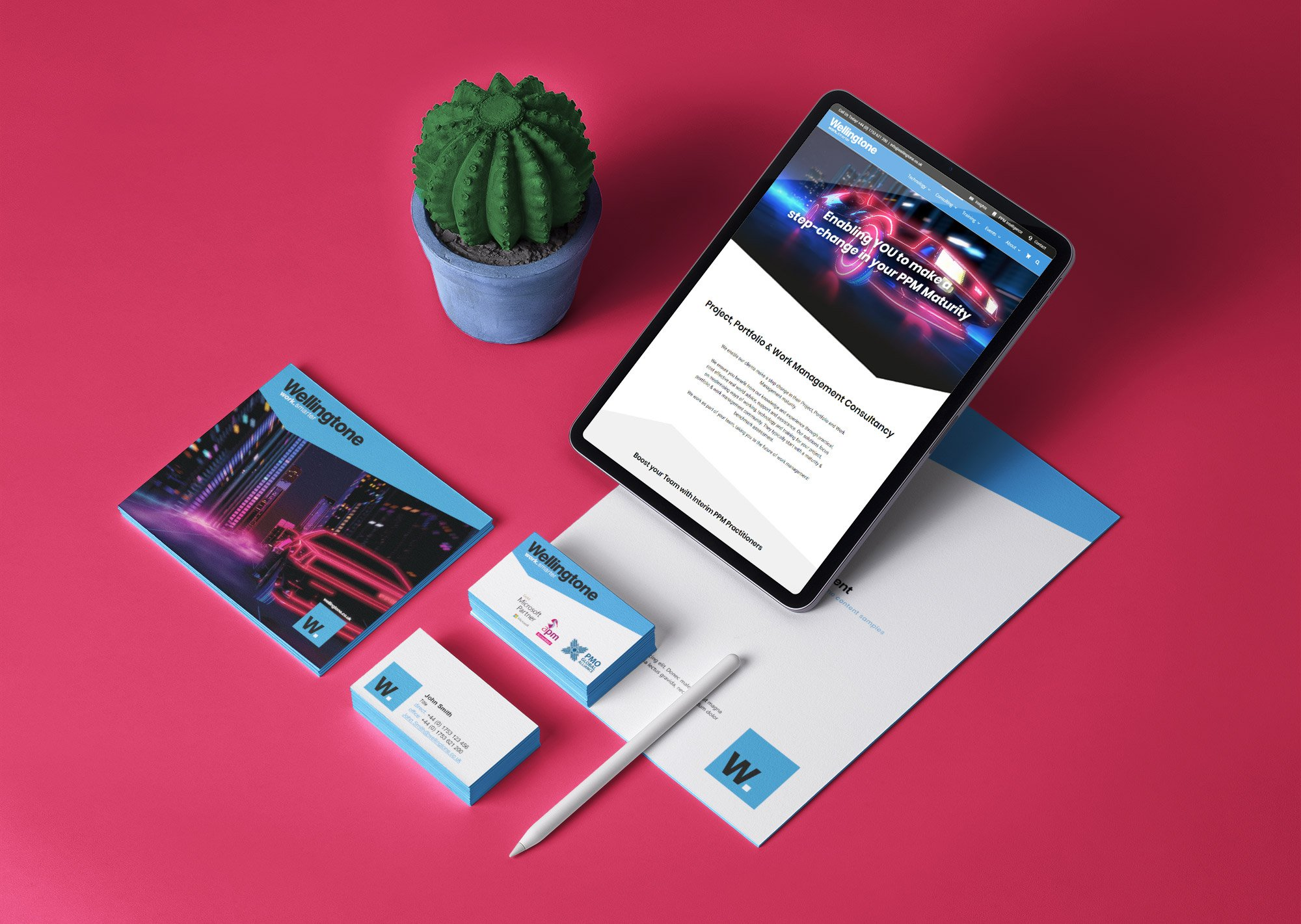 Wellingtone Branding Set